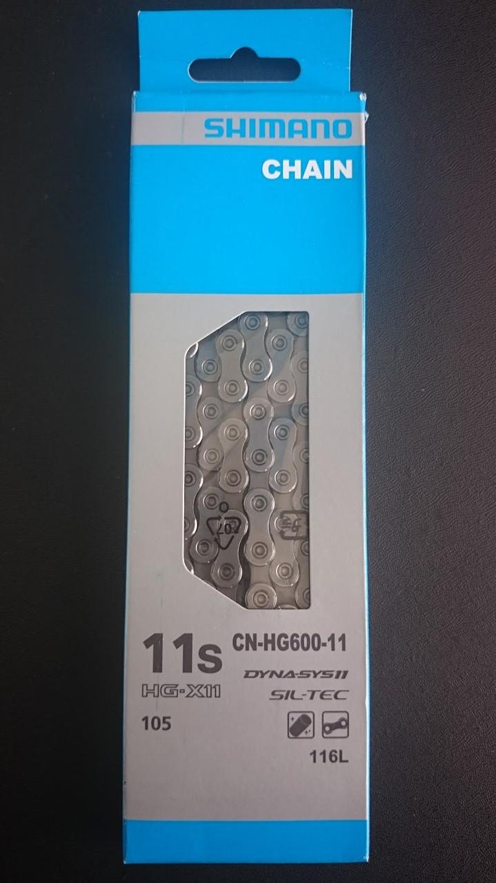 Цепь Shimano 105 CN-HG600-11(передач) - картинка 1