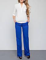 """Женские брюки со стрелками """"Альвина электрик"""", размеры S, M, L"""