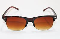 Солнцезащитные очки  в оправе коричневого цвета, фото 1