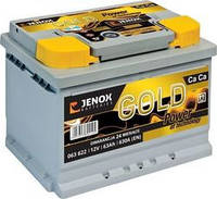 Акумулятор JENOX GOLD 63ah/12v