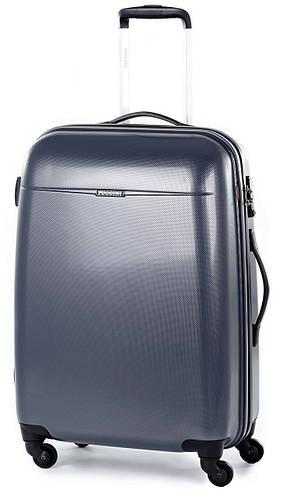 Пластиковый малый чемодан 4-колесный 36 л. Puccini PС-005, 6830/88 кобальт