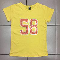 Детская одежда оптом Футболка для девочек-подростков оптом р.9-13 лет