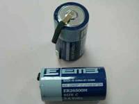 Литиевый элемент для установки в плату ER26500M-FT 3.6V EEMB