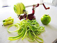 Машинка для резки и очистки фруктов и овощей спиралью Core Slice Peel