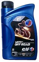 Двухтактное масло ELF Moto 2 of road 1л.