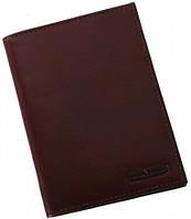 Потрясающая кожаная обложка-портмане Vip Collection 19B NP коричневый