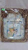 Часы керамические Музыкальный ангел размер 28*24