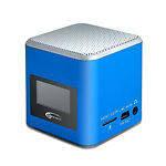 Gemix Joy (blue) Портативная АС 1.0 3W speaker, USB/CARD (SD/MMC/MS) ридер, FM, Li-on аккум
