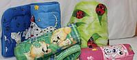 Одеяло детское 110х140, Голд бязь, силикон
