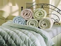 Одеяло стеганное двуспальное Голд, силикон куб 180х210