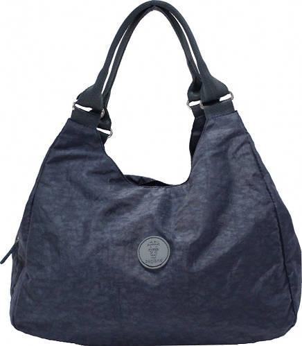 Вместительная женская сумка Diana 10 л Bagland 28276-2 темно-серый
