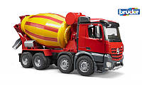 Bruder 03654 игрушка - бетоновоз Mерседес Бенц Arocs НОВИНКА 2015