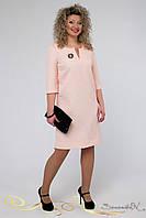 Элегантное весеннее платье большого размера