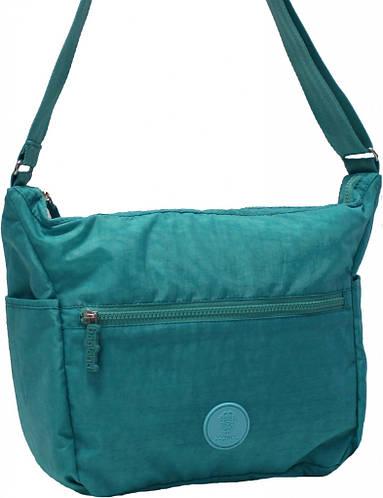 Изящная сумка Сarrier 9 л Bagland 20476-2 бирюзовый