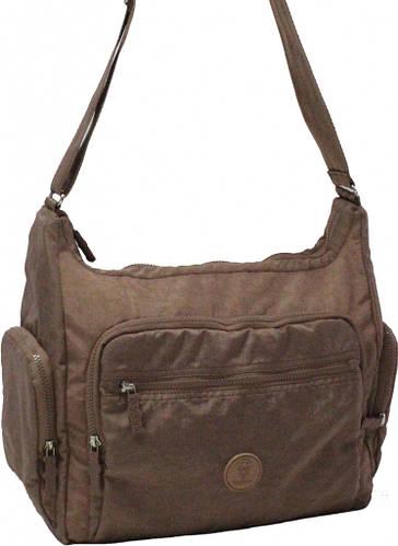 Необычная женская сумка Alyona 17 л Bagland 20376 бежевый