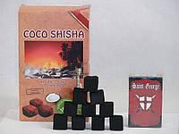 Уголь кокосовый COCO SHISHA, 1кг (72куб),29751,72