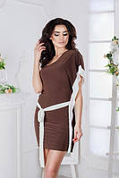 Женское платье на одно плечо