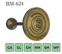 Ухват Подхват металлический хрустальный Sundeco для карниза 28-BM-624