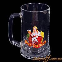 """Пивной бокал """"Beer for Man"""""""