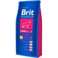Brit Premium Senior Large Брит корм для стареющих собак крупных пород 15 кг
