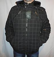 Демисезонная мужская куртка клетка.