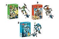 Конструктор 707 Космический воин, шарнирный Bionicle (3 вида)