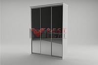 Шкаф-купе 3-х дверный спальни Инесса