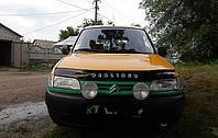 Дефлектор капота, мухобойка Citroen Berlingo с 1996-2002 г.в.  Ситроен Берлинго