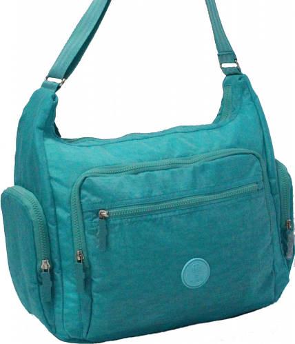 Креативная женская сумка Alyona 17 л Bagland 20376-2 бирюзовый