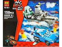 """Конструктор Bela 10011 аналог LEGO Тачки, """"Морской побег"""", 158 дет"""
