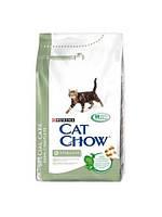 Cat Chow (Кэт Чау) Sterilized Корм для стерилизованных/кастрированных кошек и котов 1,5 кг