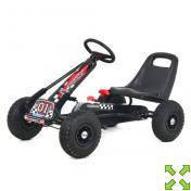 Детская педальная машина веломобиль Карт M 0645-2