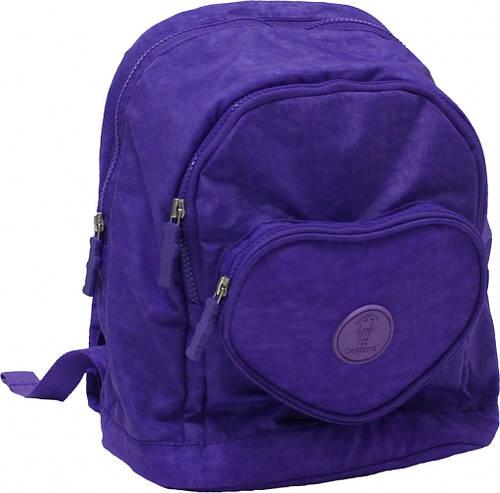 Современный рюкзак Heart 9 л Bagland 16376-3 фиолетовый