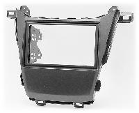 2-DIN переходная рамка HONDA Odyssey 2010-2013, CARAV 11-465