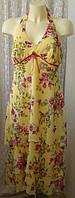Платье женское летнее модное яркое красивое сарафан макси бренд Kaleidoscope р.46 6233