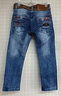 Детские джинсы для мальчика 3-6 лет