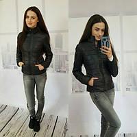 Женская стильная весенняя куртка в расцветках