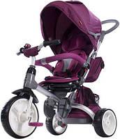 Трехколесный велосипед - коляска Sun Baby Little Tiger T500 с поворотным сиденьем