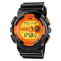 [ Skmei1026 ] мужские электронные светодиодные спортивные водонепроницаемые наручные часы