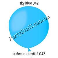 """Надувной шар гигант пастель Небесно-голубой 042, 36"""" (91 см)"""