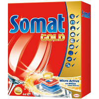 Таблетки для посудомоечных машин Somat Голд 44 шт (9000100930628)