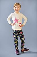 Джинсы для девочек от 2 до 7 лет (Звезды)