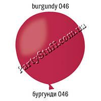 "Воздушный шарик кристалл Бургунди 046, 36"" (91 см)"