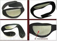 Накладка на шею из турмалина - для очищения и разжижения крови (Green World)