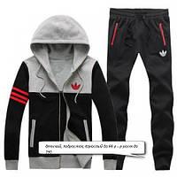 Теплый, зимний, детский спортивный костюм с начесом для прогулок 28-42р для девочки, мальчика