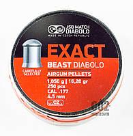 Пули JSB Exact Beast Diabolo