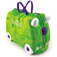 Детский чемоданчик на колесах REX DINOSAUR TRUNKI