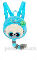 Рюкзак-игрушка Yoohoo Лемур голубой 18 см Aurora 90773A