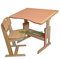 Комплект парта антисколиозная и стул бук