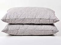 Подушка льняная стёганая Хэппи лен 70х70 см вес 3100 г